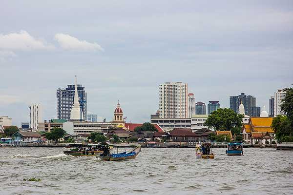 Chao Phraya Express Boat in Bangkok